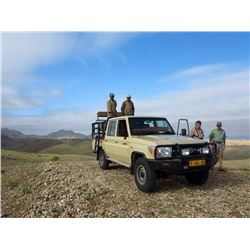 MAKADI SAFARIS: 5-Day Plains Game Safari for Two Hunters and Two Non-Hunters in Namibia - Includes T