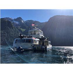 GLACIER GUIDES: 6-Day Luxury Yacht Coastal Black Bear Hunt for One Hunter in Alaska - Includes Troph