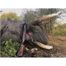 NDUMO SAFARIS: 16-Day Trophy Elephant Hunt for One Hunter and One Non-Hunter in Namibia's Caprivi St