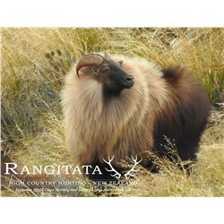 KIWI SAFARIS: 5-Day/4-Night Himalayan Tahr Hunt for Four Hunters and Four Non-Hunters in New Zealand
