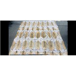 HYDE FUR: Beautiful Fur Blanket Handcrafted by Hyde Fur & Shearling