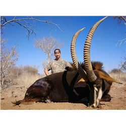 GLOBAL SAFARIS: 10-Day Sable and Ostrich Safari for Two Hunters in the Limpopo Province of South Afr