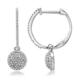 0.44 CTW Diamond Earrings 14K Rose Gold - REF-37X4R