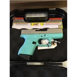 Glock 43-9MM- Robins Egg Blue
