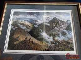 1992 Collectors Edition, RMEF Print by Ralph Oberg