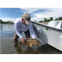 2 - DAY / 3 - NIGHT CARP FLY-FISHING FOR TWO ON THE MISSOURI RIVER IN MONTANA (100% FULLY DONATED) G