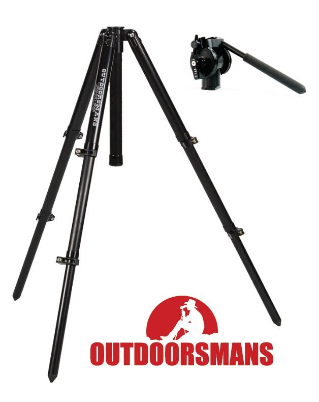 OUTDOORSMAN TALL TRIPOD & PAN HEAD (100% FULLY DONATED) THE OUTDOORSMAN