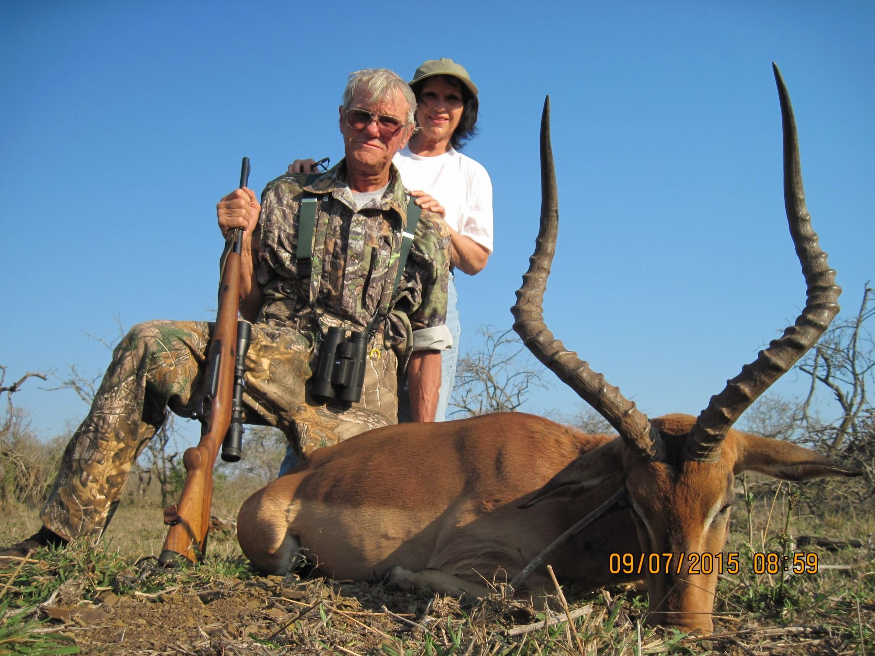 8 - DAY SAFARI - ZEEKOEPAN SAFARIS, PONGOLA, KWAZULU-NATAL, SOUTH AFRICA FOR UP TO 4 HUNTERS  ZEEKOE