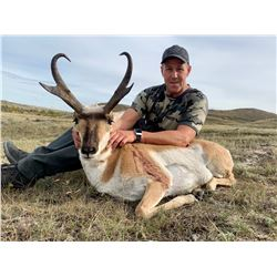 ANTELOPE HUNT IN ALBERTA FOR 1 HUNTER  (100% OF THE PROCEEDS TO BE DIRECTED TO 1 CAMPFIRE INITIATIVE