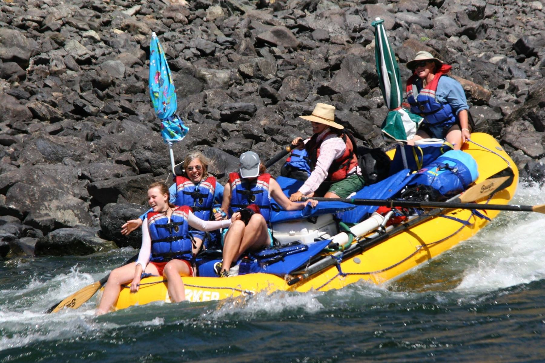 4 - DAY RAFTING TRIP FOR TWO PEOPLE (100% FULLY DONATED) BARKER TROPHY HUNTS / BARKER RIVER EXPEDITI