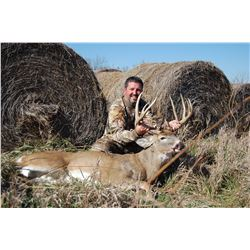 5 - DAY TROPHY WHITETAIL DEER HUNT IN KANSAS FOR 2 HUNTERS BELL WILDLIFE SPECIALTIES