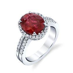 NATURAL RUBY & DIAMOND RING BARANOF JEWELERS