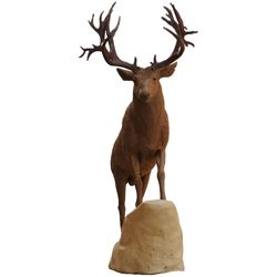 """DOMINION"" MULE DEER BRONZE SCULPTURE #1/100 RICK TAYLOR SCULPTOR"