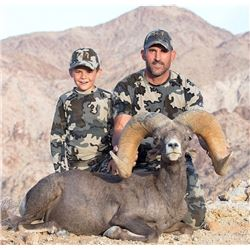 CALIFORNIA DESERT BIGHORN SHEEP PERMIT (Open-Zone Tag) CALIFORNIA DEPARTMENT OF FISH & WILDLIFE