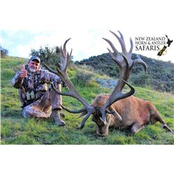 8 - DAY HUNT FOR 3 HUNTERS. 1XRED STAG, 1XBULL TAHR & 1XALPINE CHAMOIS PER HUNTER (Trophy fees for r
