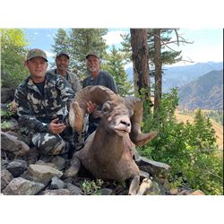 2020 OREGON BIGHORN SHEEP TAG OREGON DEPARTMENT OF FISH & WILDLIFE