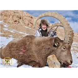 6 - DAY MID-ASIAN IBEX HUNT FOR 1 HUNTER (Trophy fee included for Mid-Asian ibex up to 45 points) TH