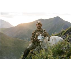 12 - DAY DALL'S SHEEP/WOLF/WOLVERINE HUNT IN THE NORTHWEST TERRITORIES FOR 1 HUNTER & 1 NON-HUNTER G
