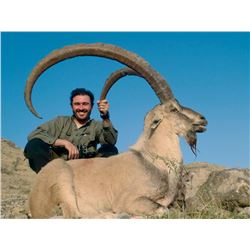"3 - DAY HUNT IN PAKISTAN FOR SINDH IBEX (Trophy for 1 Sindh ibex up to 39"" included) SHIKAR SAFARIS"