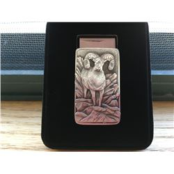 Bronze Belt Buckles & Pewter Money Clip