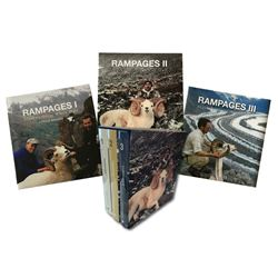 RAMPAGES ALASKA'S GREAT WHITE DALL 3 VOLUME COLLECTOR'S SET LEWIS D. BRADLEY