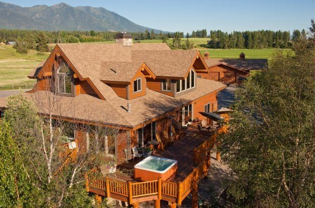 3 - DAY RETREAT AT THE BEAUTIFUL GENTRY RIVER RANCH IN MONTANA FOR UP TO 18 PEOPLE WOUNDED WARRIOR O