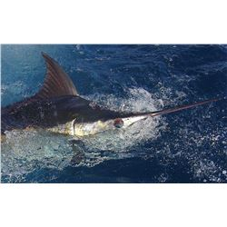 6 - DAYS OF FISHING IN ZIHUATANEJO, MEXICO FOR 1 ANGLER AND 20% OFF FOR ADDITIONAL ANGLERS (100% FUL
