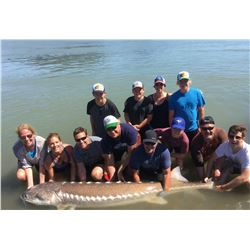 1 - DAY STURGEON FISHING TRIP FOR UP TO 4 PEOPLE IN B.C. CANADA (100% of the Proceeds to be directed