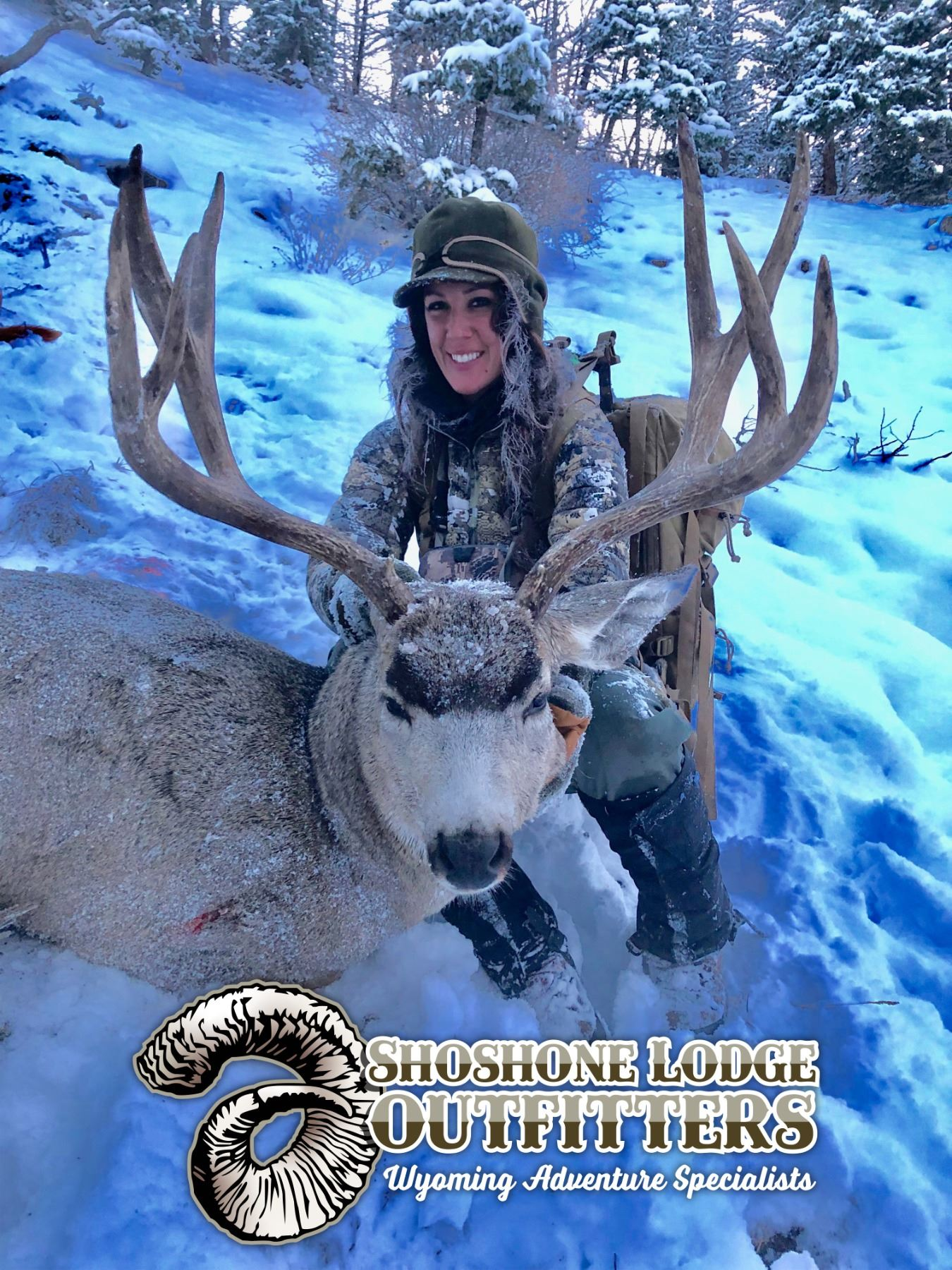 5 - DAY MULE DEER HUNT FOR 2 HUNTERS SHOSHONE LODGE OUTIFTTERS