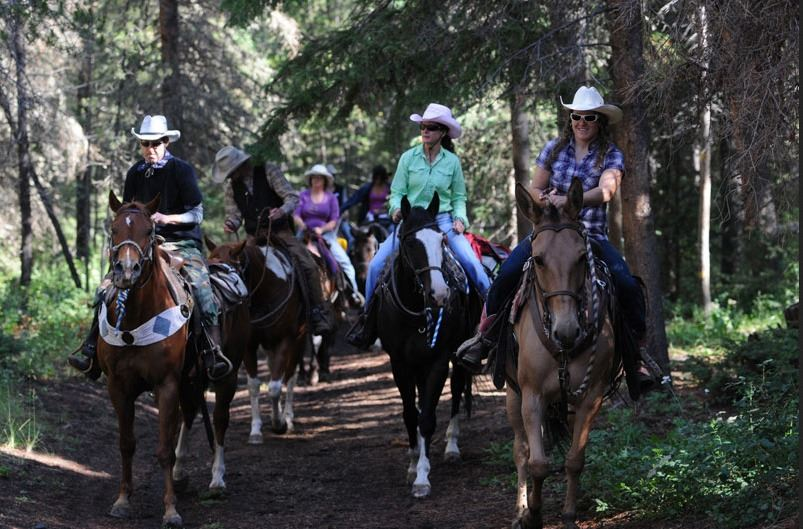 7 - NIGHT ALL INCLUSIVE VACATION ON THE 7D RANCH IN WYOMING WILDERNESS FOR 2 PEOPLE (100% FULLY DONA