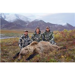 10 - DAY GRIZZLY/CARIBOU HUNT FOR 1 HUNTER IN ALASKA'S ARCTIC NATIONAL WILDLIFE REFUGE ALASKA OUTFIT