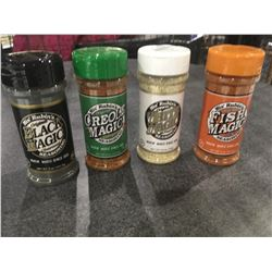 Mis' Rubins 4 Seasonings Pack