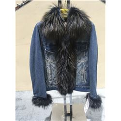 Denim with Fox Accents, Sizes up to 2X