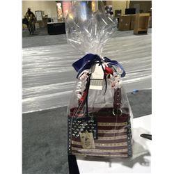 Montana West American Flag Gun Conceal Handbag