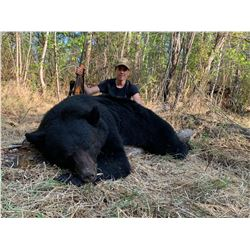 ALBERTA HUNTING COMPANY 7-day Northern Alberta Black Bear and Wolf Hunt for 1 Hunter