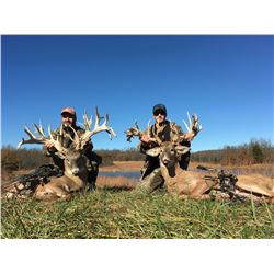 XTREME WHITETAIL ADVENTURES 3-Day Whitetail Hunt in Missouri for 2 Hunters.