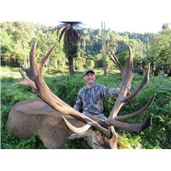 KURANUI NEW ZEALAND HUNTING 5-Day Hunt for Rusa Stag & Red Stag in New Zealand for 2 Hunters
