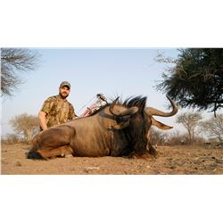 DRIES VISSER SAFARIS 10-day South African Plains Game Hunt for 2-Hunters and 2-Observers