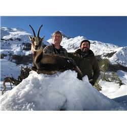 Giuseppe Carrizosa SPAIN (SCI's 2009 Int'l Professional Hunter of the Year) is donating a Pyrenean C