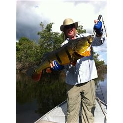 ACUTE ANGLING 6-Day Amazon Peacock Bass and Exotic Species Fishing Trip