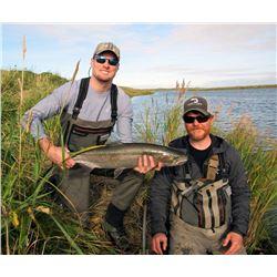 WILDMAN LAKE LODGE 7-Day Alaska Peninsula Fishing Adventure for 2-Anglers