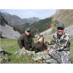 SAFARI ART Balkan Chamois Hunt for 2 Hunters in Serbia