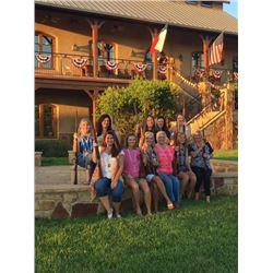 MITZY & TONY MCCORVEY RANCHO DE SUENOS Weekend in the Hill Country for 14 Women or 6 Couples