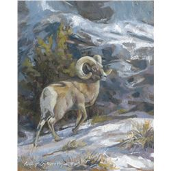 WILDLIFE CONSERVATION ARTIST VICKIE MCMILLAN-HAYES 16 x 20 Painting of Your Choice