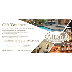 South Africa – VIP Meet and Greet, Two Rifle Permits, and Afton Safari Lodge Stay