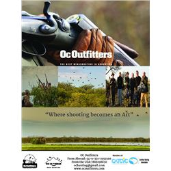 Argentina Dove Hunt – Six Hunters - Four Days – OC Outfitters