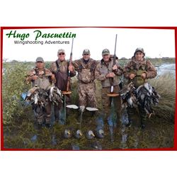 HP Wing Shooting, Argentina – Four Hunters Five Days - Unlimited Dove Hunting