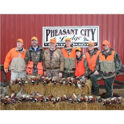 South Dakota - 2 Day and 2 Night Wild Pheasant Hunt for 2020 or 2021
