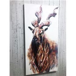 Calgary - Markhor Painting - Michael Sydoryk
