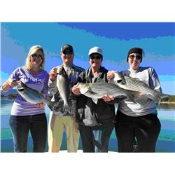 6 HR guided fishing with Shane Goebel for 2 anglers on Lake Nottely, Lake Chatuge or Lake Hiawasse